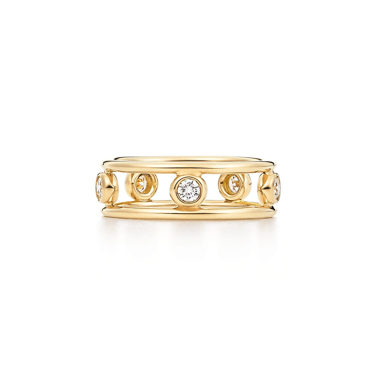cf757eb885d Elsa Peretti® Diamonds by the Yard® ring in 18k gold with diamonds ...