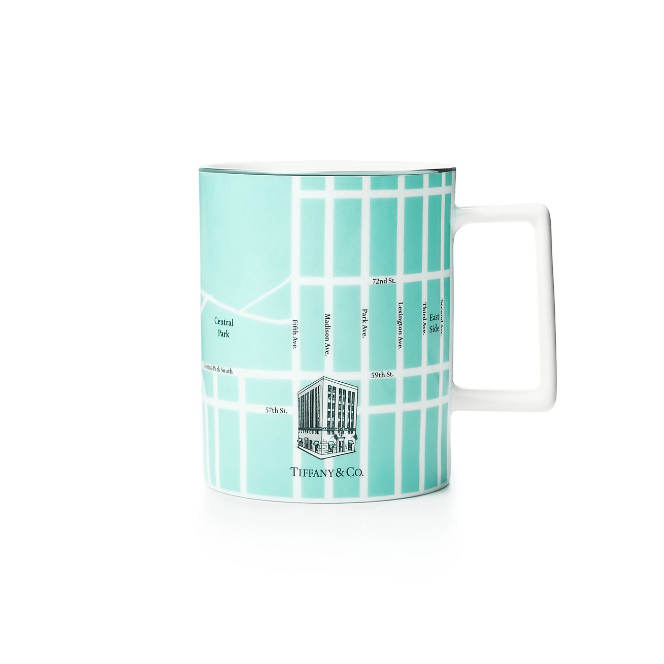 Shop Manhattan Map Mug | Tiffany & Co.