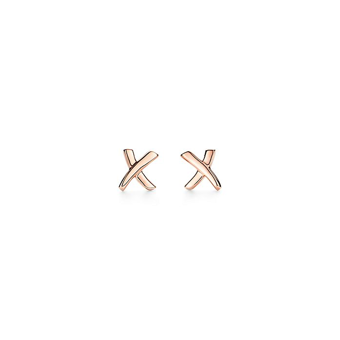 0c32358373b5 Paloma s Graffiti X earrings in 18ct rose gold