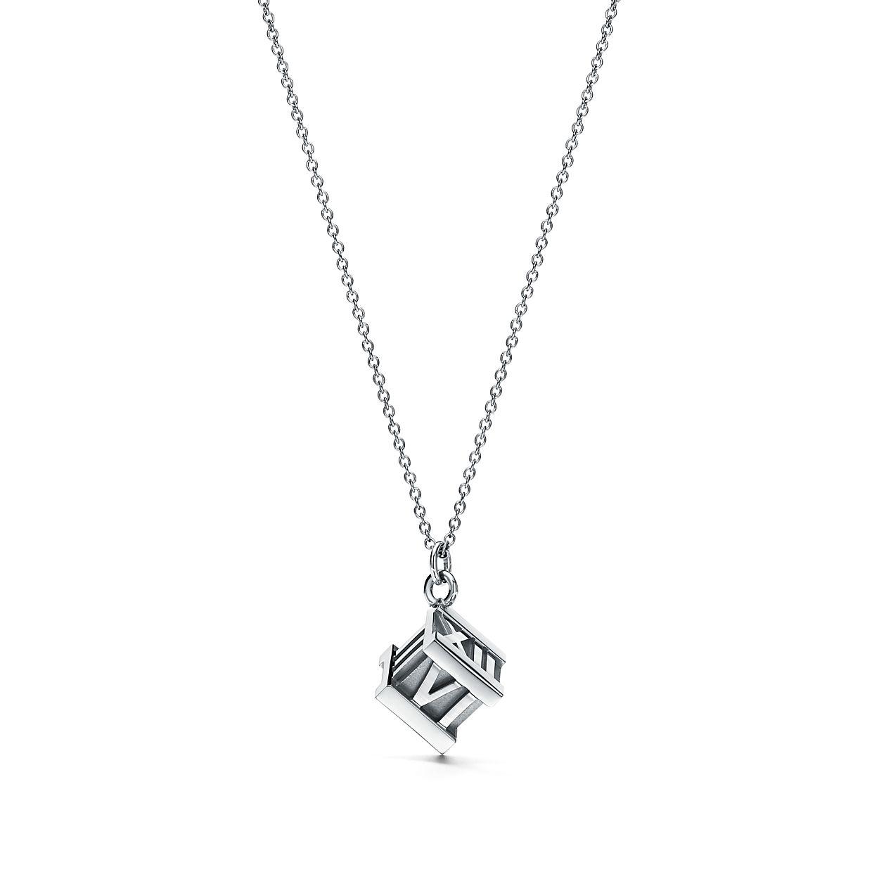 Atlas cube pendant in sterling silver tiffany co atlascube pendant atlascube pendant aloadofball Gallery