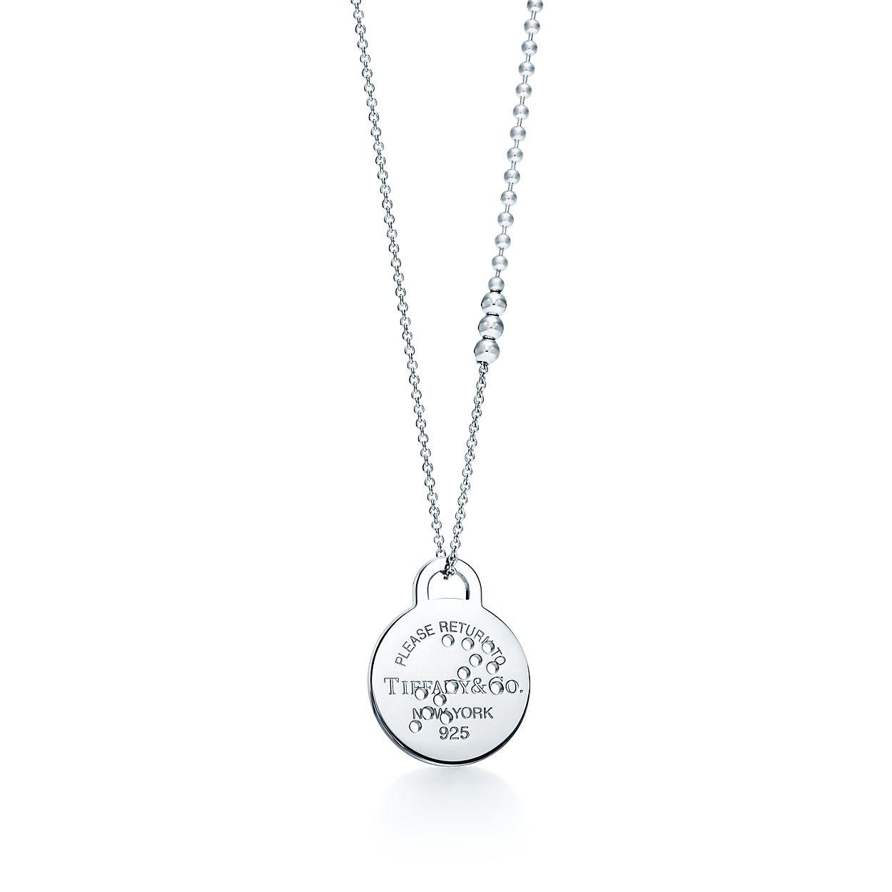 Return To Tiffany Zodiac Sagittarius Pendant In Sterling Silver