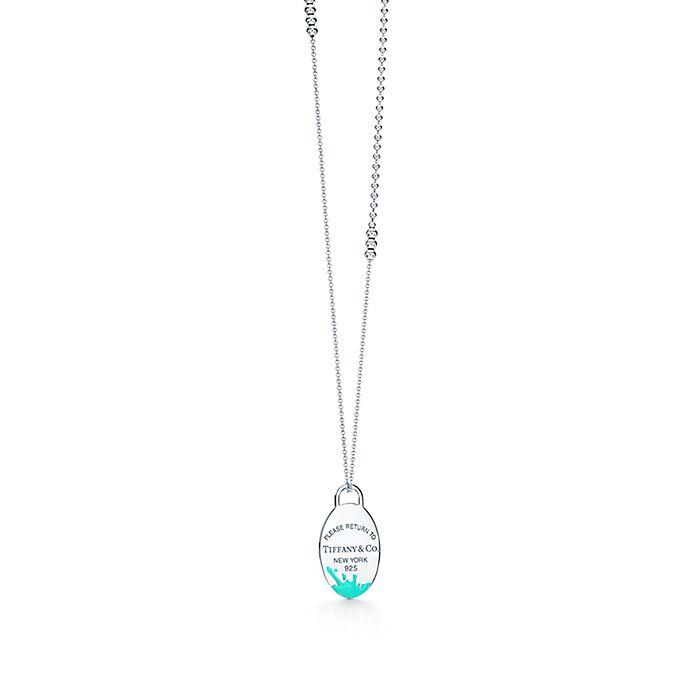 4af03d6533 Return to Tiffany® Color Splash pendant in sterling silver, large ...