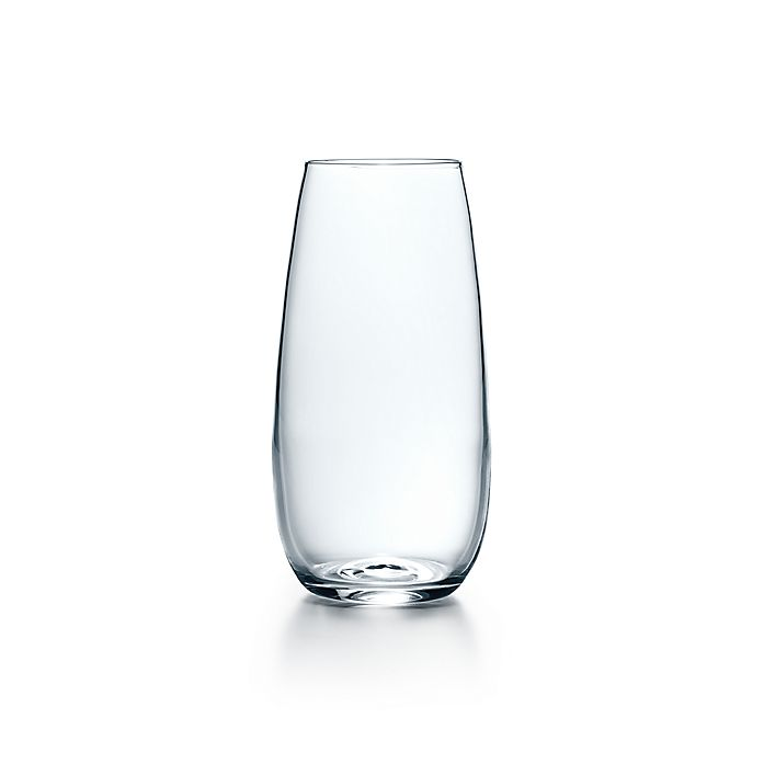 Stemless Champagne Flute In Handmade Mouth Blown Crystal Tiffany Co