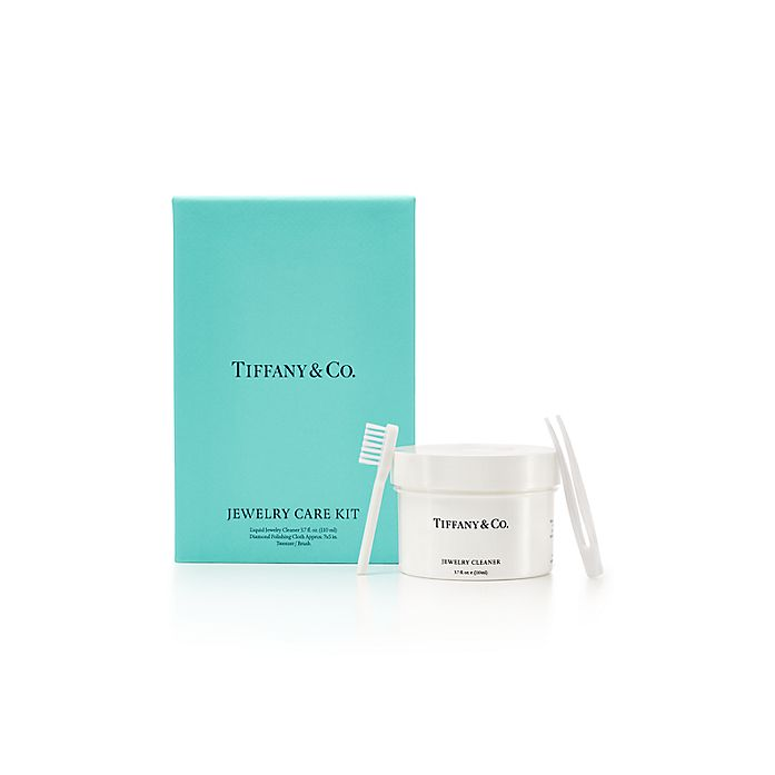 32bb0a33596c3 Tiffany Jewelry Care Kit with liquid jewelry cleaner, cloth ...