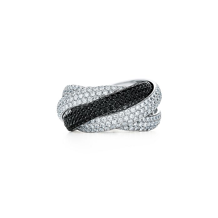 47e232f53 Paloma's Melody five-band ring in 18k white gold with diamonds and ...