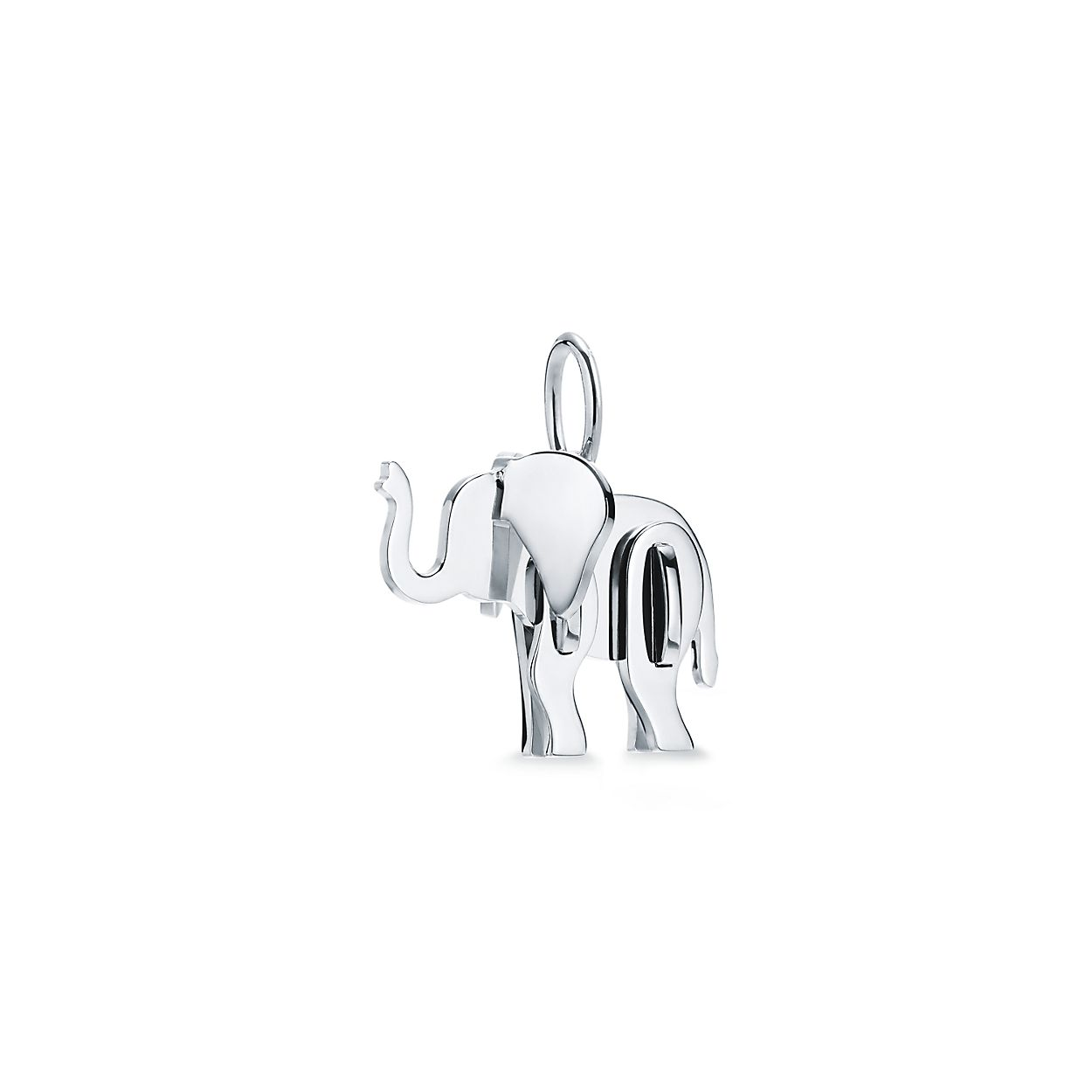 Tiffany Save the Wild elephant charm in sterling silver bff191f42b