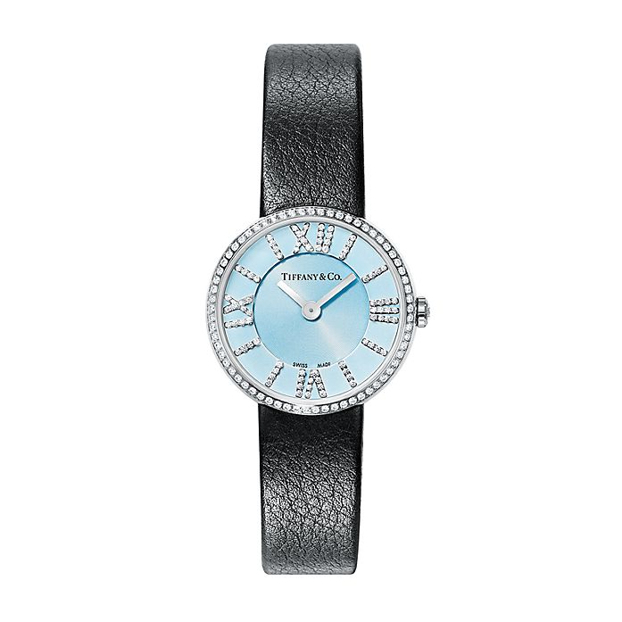 7c4ffea6dae2 Atlas® 2-Hand 24 mm women s watch in stainless steel with diamonds ...