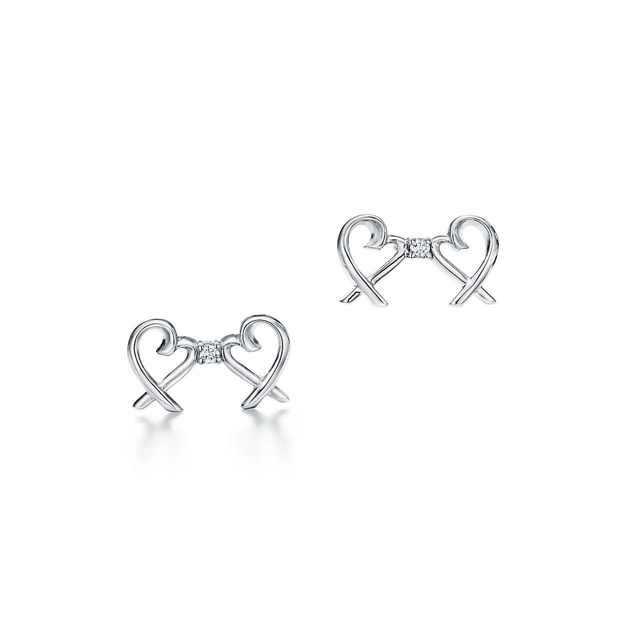 Paloma Pico Double Loving Heart Earrings