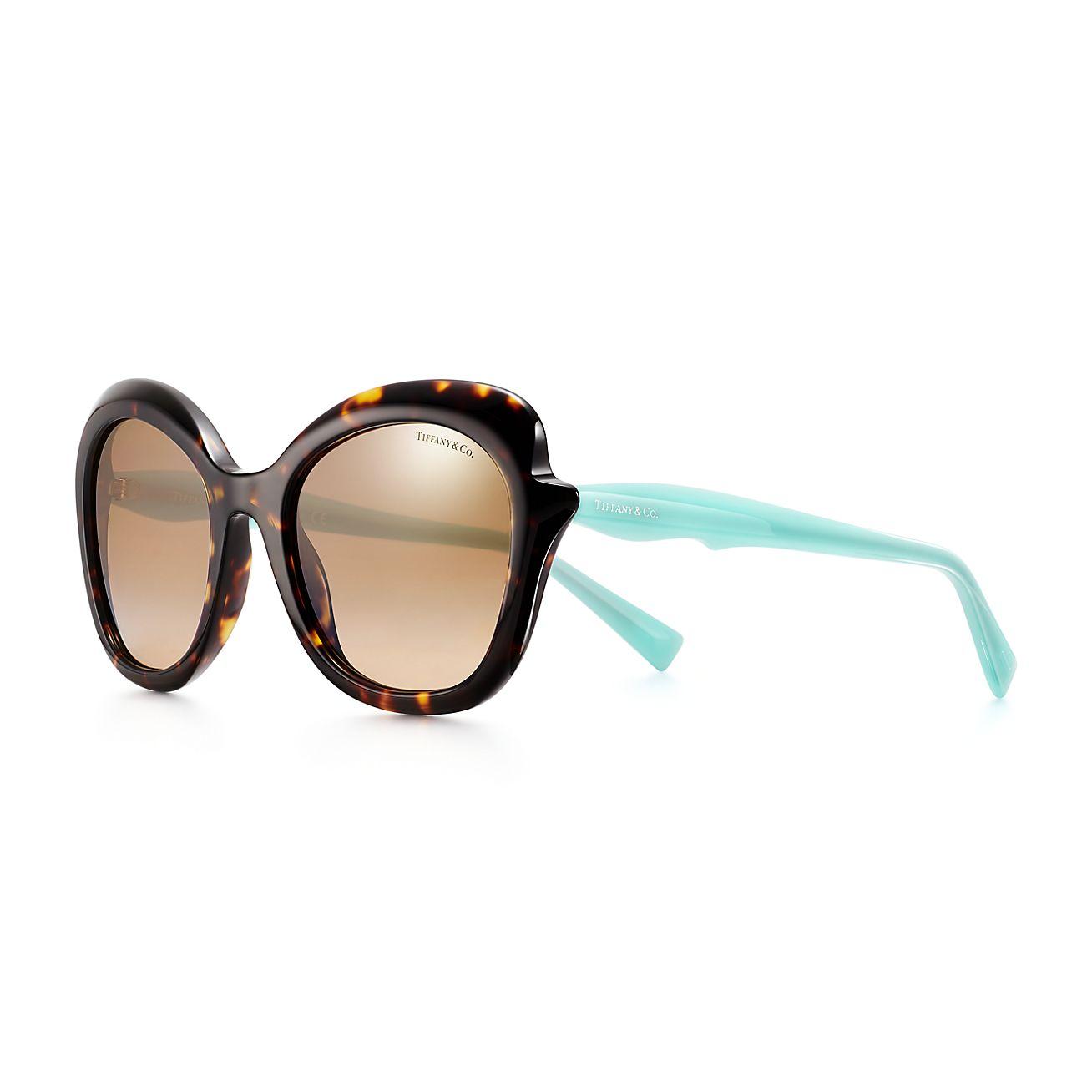 Tiffany Paper Flowers Rechteckige Sonnenbrille Aus Acetat Tiffany