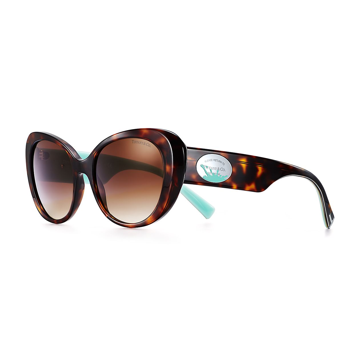 419516d6be9 Return to Tiffany® Color Splash oval sunglasses in acetate ...