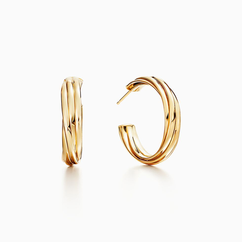 rings earrings golden bijoux ring en emiliana