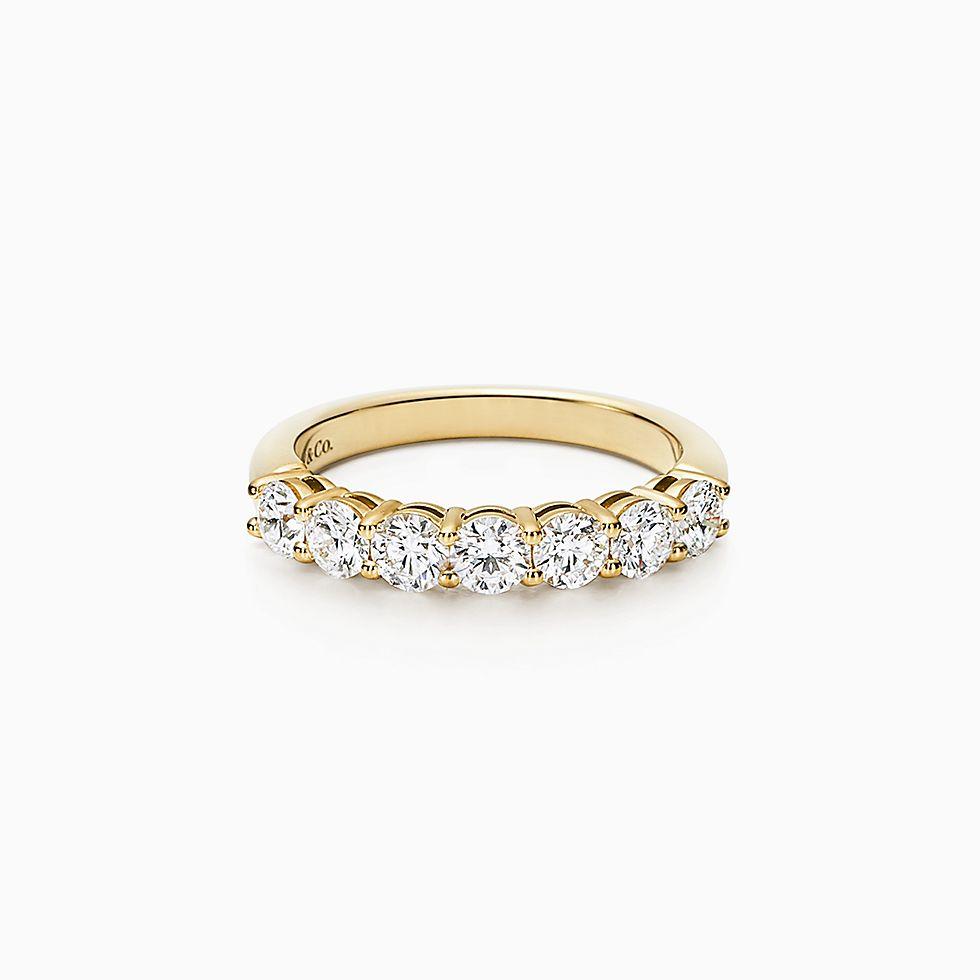 Women S Gold Wedding Bands Tiffany Co