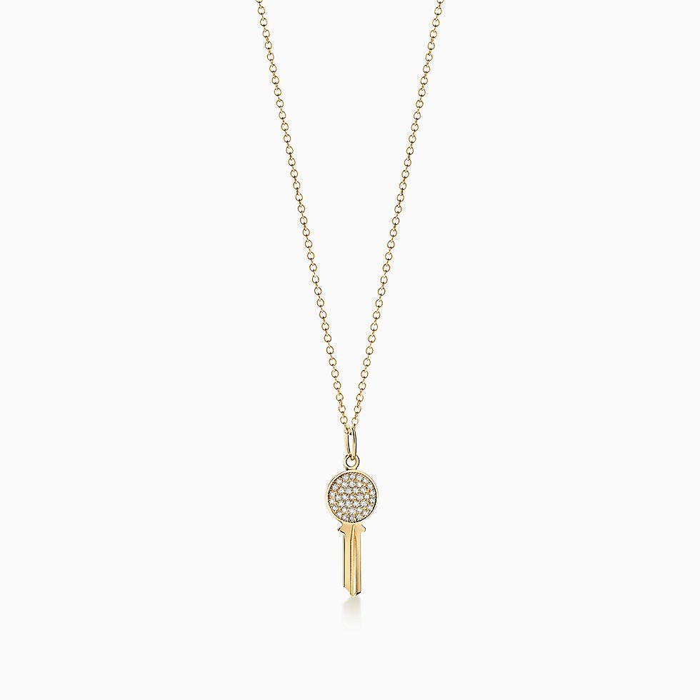 Diamond necklaces pendants tiffany co new aloadofball Images