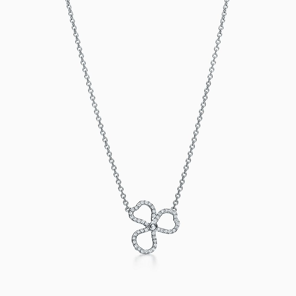 Diamond necklaces pendants tiffany co httpsmediatiffanyisimagetiffanyecombrowseltiffany paper flowers diamond open flower pendant 61626476984734sv1gopusm100100 aloadofball Images