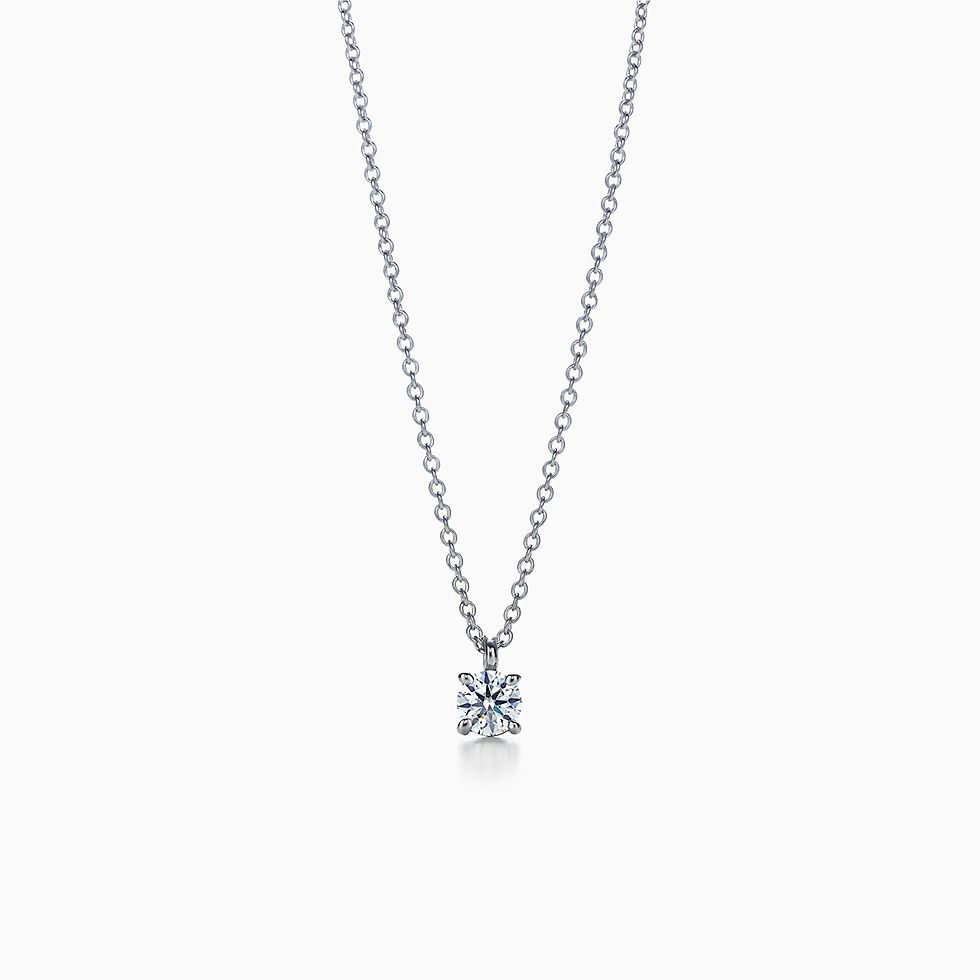Solitaire jewelry tiffany co httpsmediatiffanyisimagetiffanyecombrowseltiffany solitaire diamond pendant 14001557934510sv1gopusm100100600defaultimage aloadofball Image collections