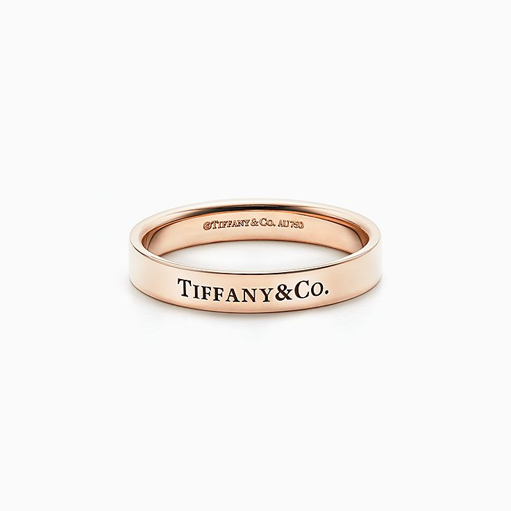 Bague mariage homme tiffany