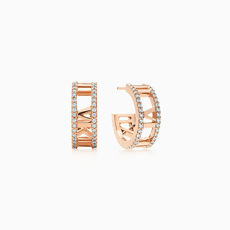 Earrings & Stud Earrings Silver Gold & Diamond Earrings