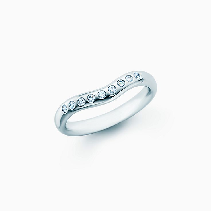 Platinum wedding bands for women tiffany co junglespirit Images