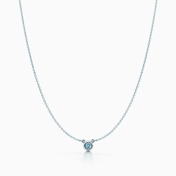 aquamarine diamond aqua jewelry k marine necklace lauren fine and