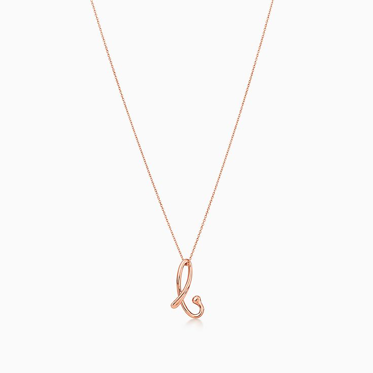 Shop tiffany alphabet necklaces initial pendants tiffany co new mozeypictures Image collections