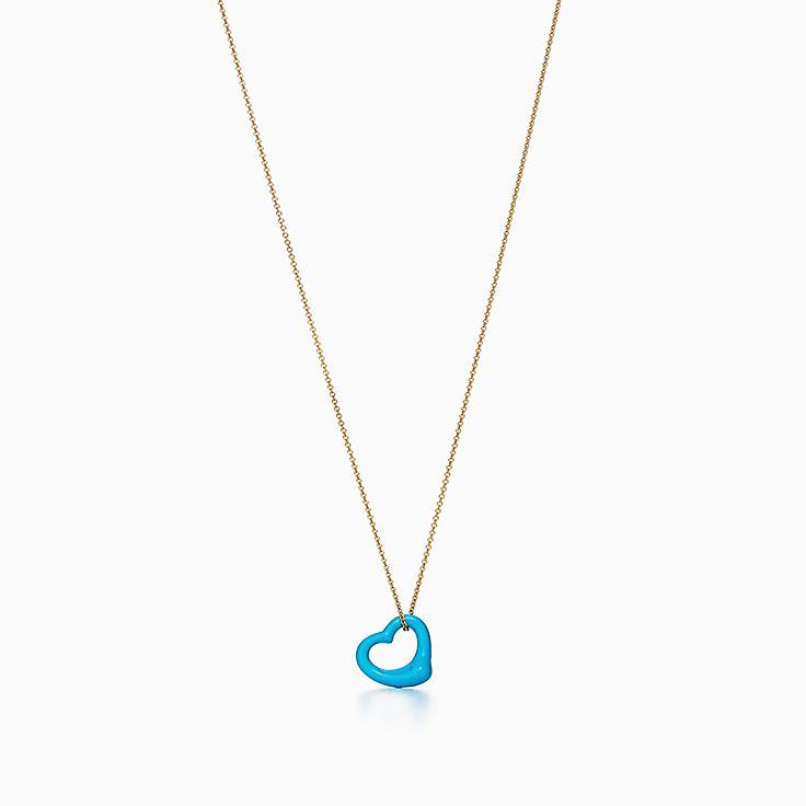 Elsa peretti collection tiffany co new elsa peretti open heart pendant aloadofball Gallery