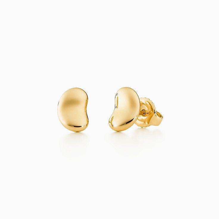 Bean Design Earrings