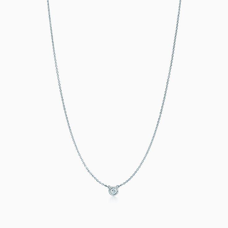 a77b7eba6f6 Elsa Peretti® Diamonds by the Yard® pendant in sterling silver ...