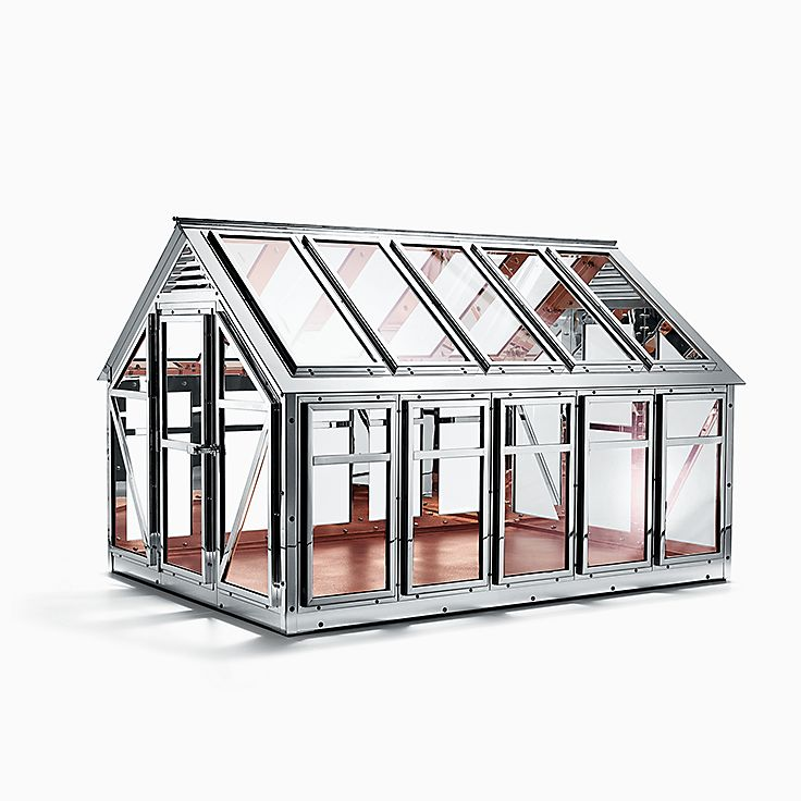Everyday Objects Sterling Silver Greenhouse Tiffany Co