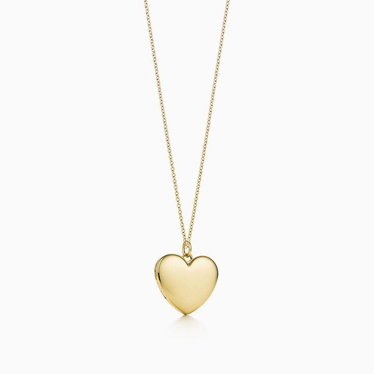 a1e7bd0686 Heart locket pendant in 18k gold, large.   Tiffany & Co.