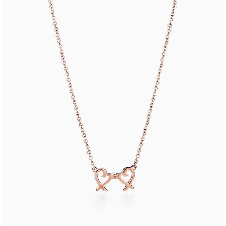 Halsketten Für Damen Rose Gold Silber Gold Tiffany Co