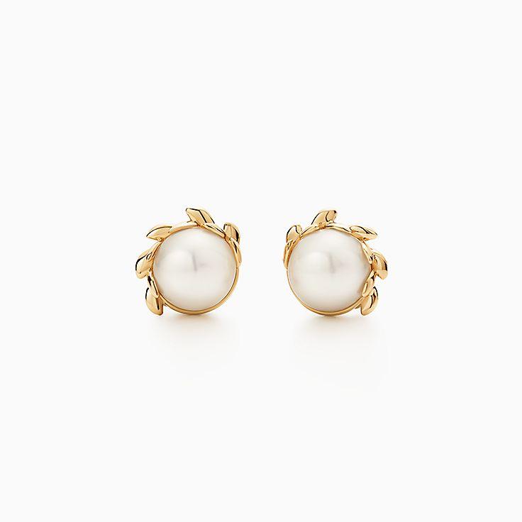 Pearl Earrings Studs Hoops Tiffany Co
