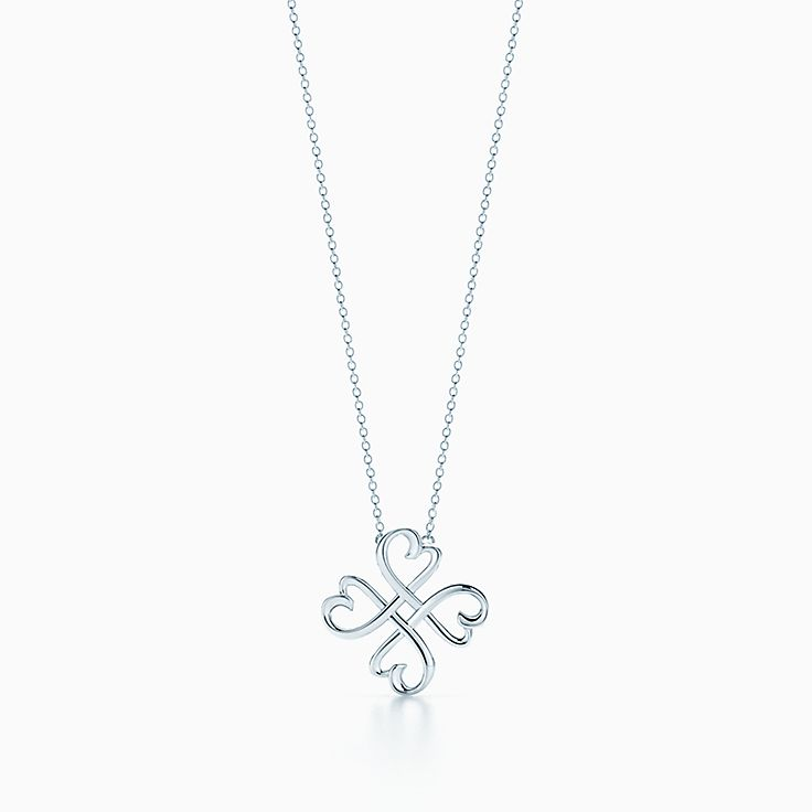 Paloma Picasso Loving Heart Pendant In Sterling Silver Tiffany Co