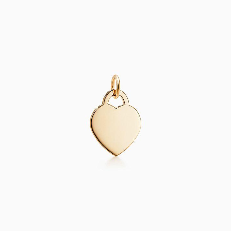 Подвеска-жетон в форме сердца