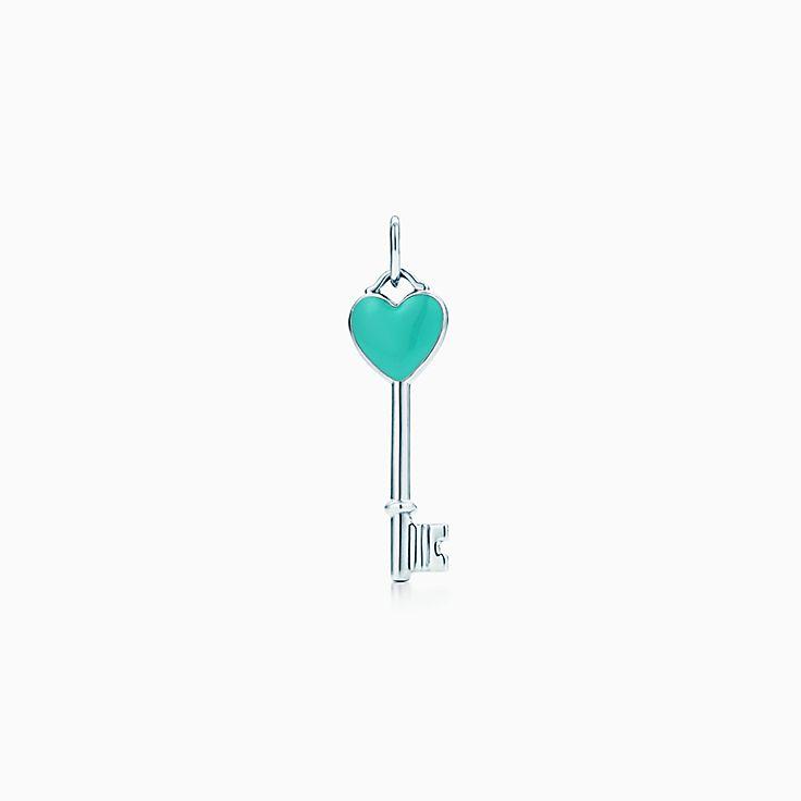 티파니 키:하트 키 펜던트