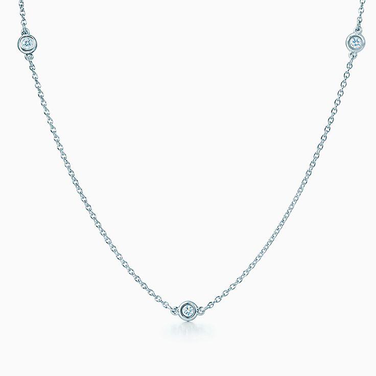 엘사 퍼레티™: 다이아몬드 바이 더 야드™ 목걸이