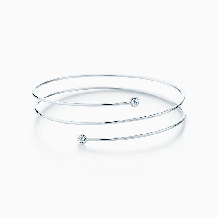 エルサ・ペレッティ™:ダイヤモンド フープ ブレスレット