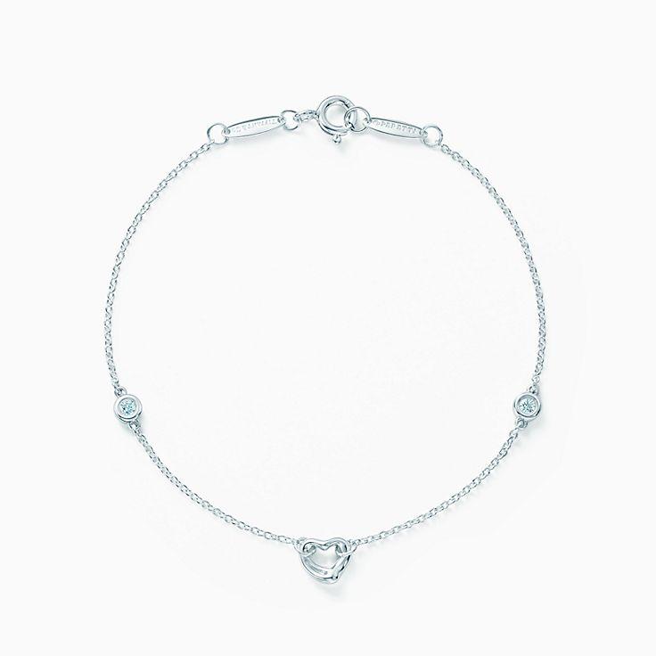 エルサ・ペレッティ™:ダイヤモンド バイ ザ ヤード™ オープン ハート ブレスレット