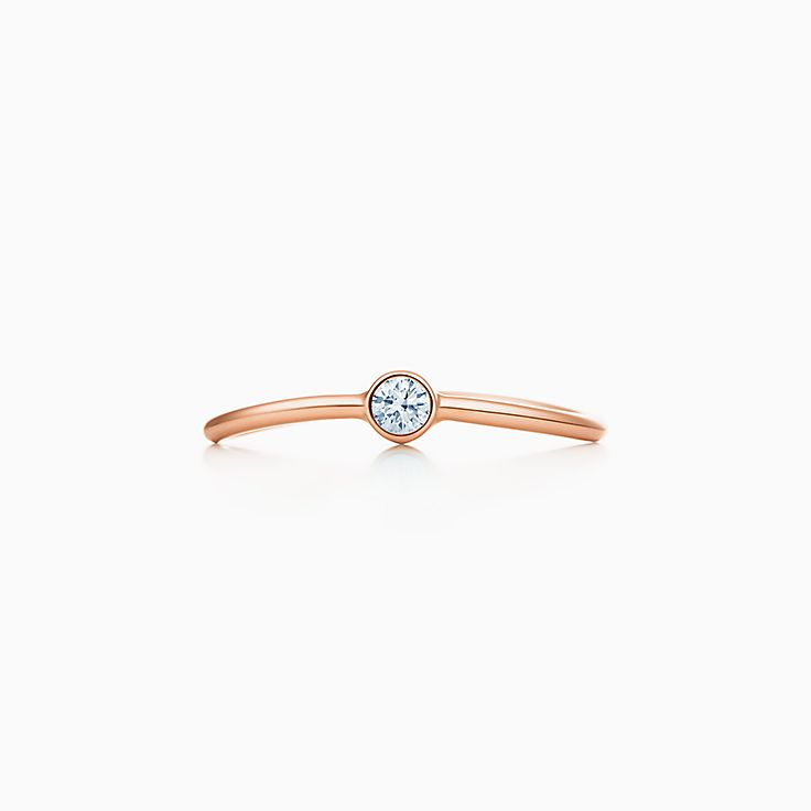 エルサ・ペレッティ™:ウェーブ シングルロウ ダイヤモンド リング