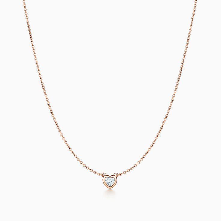 エルサ・ペレッティ™:ダイヤモンド バイ ザ ヤード™ ハート ネックレス