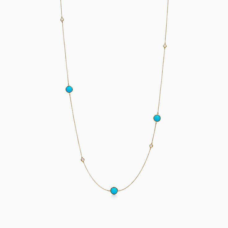エルサ・ペレッティ™:カラー バイ ザ ヤード スプリンクル ネックレス