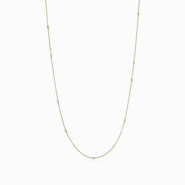 エルサ・ペレッティ™:ダイヤモンド バイ ザ ヤード™スプリンクル ネックレス