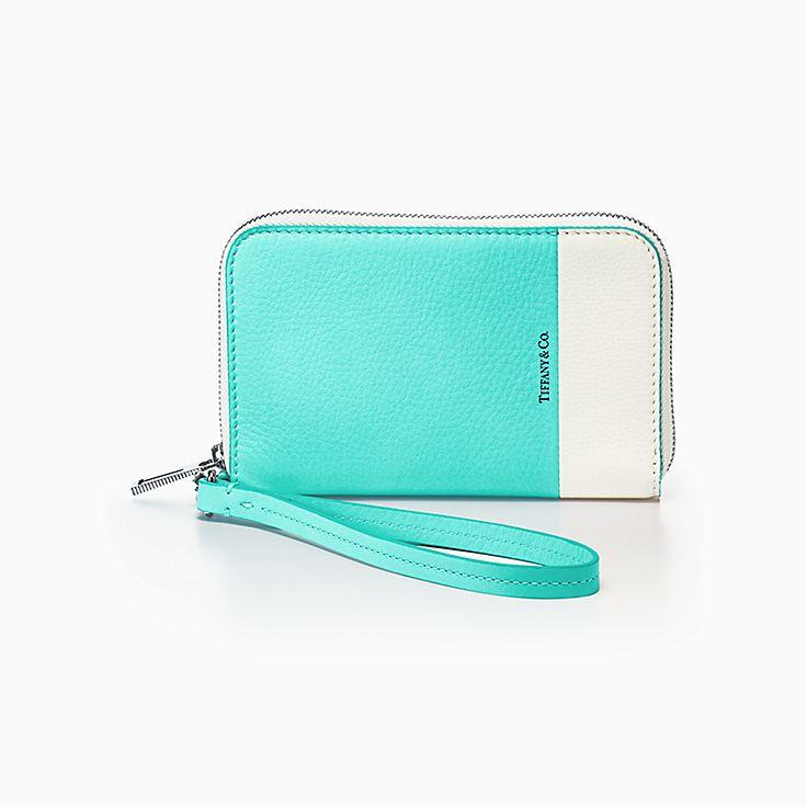 컬러 블록:지퍼 지갑