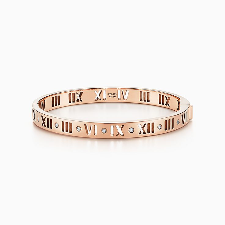 Atlas(MC): bracelet jonc percé à charnière
