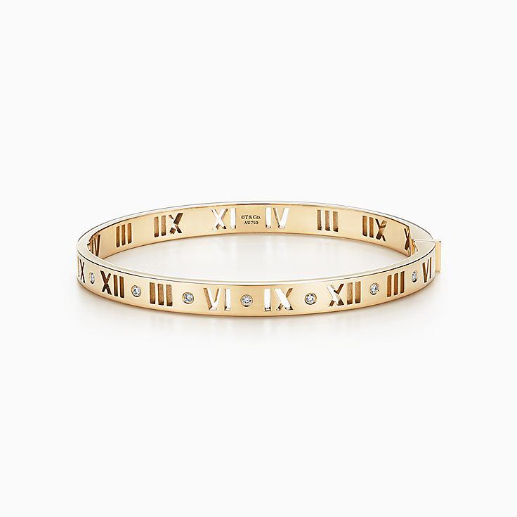 Atlas®:Pierced Hinged Bangle