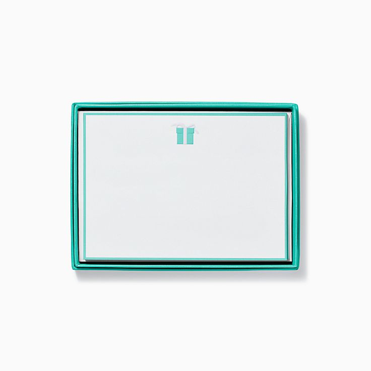 Blue Box Note Cards