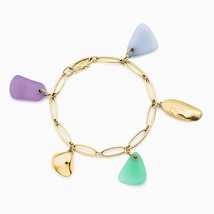 Bracelet à breloque coquillage de plage Cat Island Elsa Peretti®