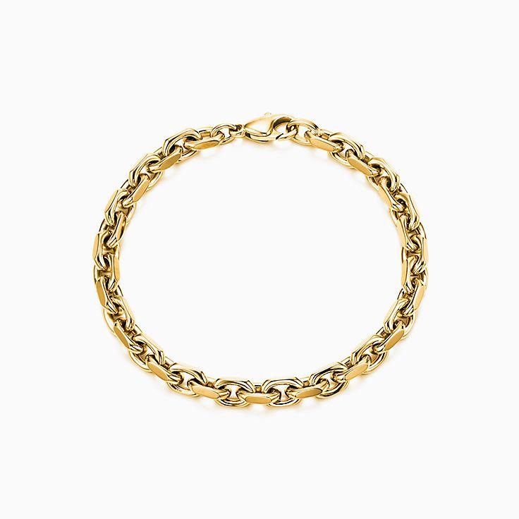 Bracelet à maillons ovales