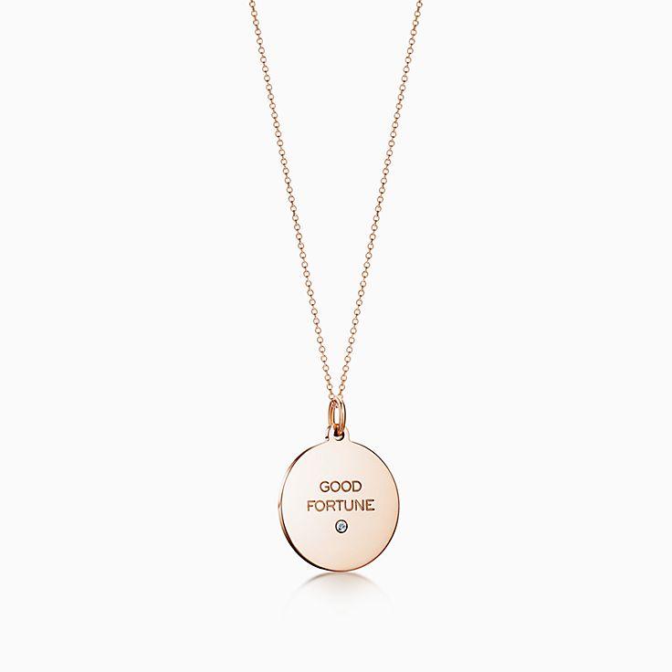 """Ciondolo """"Good Fortune"""". Tiffany Charms"""