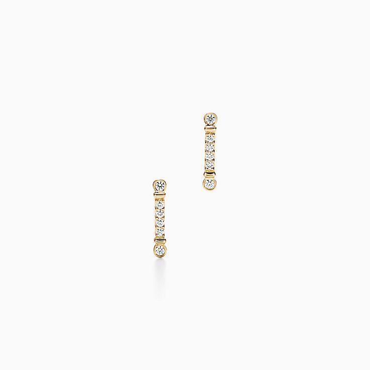 Collezione Tiffany Fleur de Lis:Orecchini a barretta Key