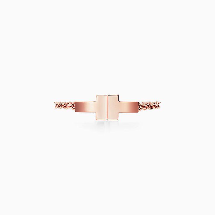 Collezione Tiffany T:Anello Two a catena